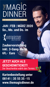 The Magic Dinner - Januar bis März 2020