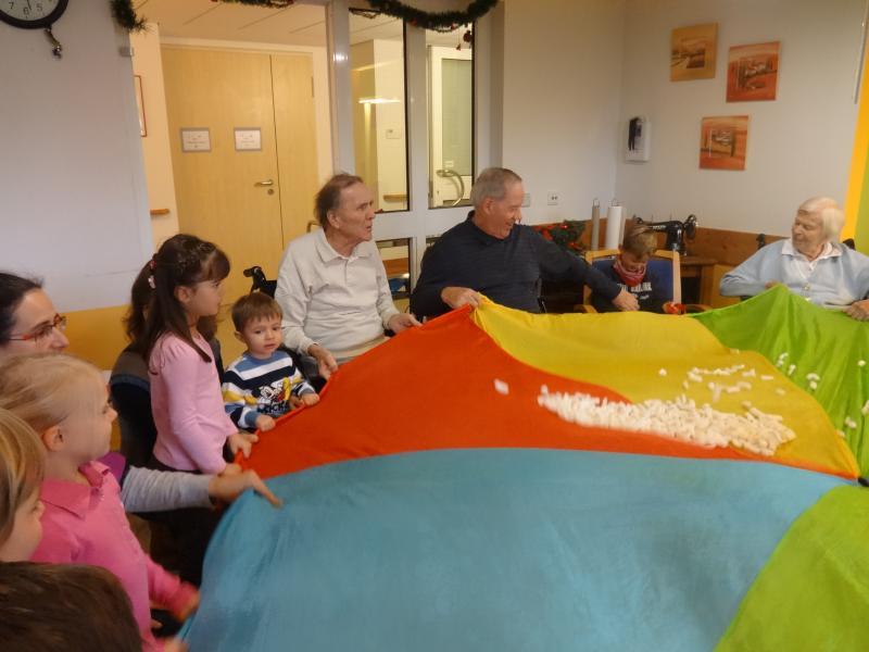 Kindergarten zu Gast im Haus Elisabeth | Amper-Kurier